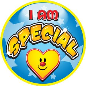 I Am Special Sticker